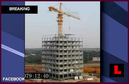 Chinese 30 Story Hotel Built in 15 Days Makes History