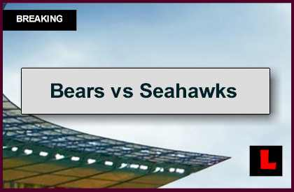 Bears vs Seahawks 2014 Score, Channel Ignites NFL Football Channel