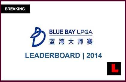 LPGA Leaderboard 2014: Blue Bay Live Score Results Surges Jessica Korda l