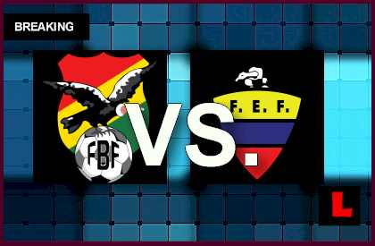 Bolivia vs Ecuador 2014 Score En Vivo Prompts Soccer Amistoso 9/6l