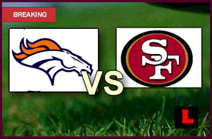 giants game online denver broncos game score tonight