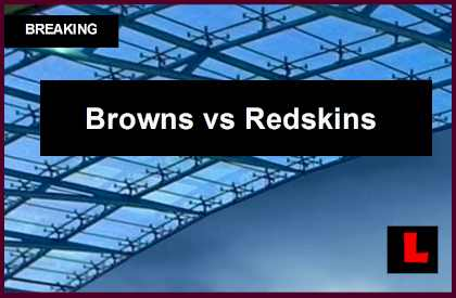 Browns vs Redskins 2014 Score: Johnny Manziel Battles RG3