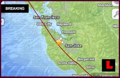 California Earthquake Today 2014 Strikes Stanford, Palo Alto