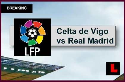 Celta de Vigo vs Real Madrid 2015 Score En Vivo Ignites La Liga Table