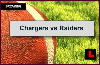 Chargers vs Raiders 2014 Score Tied in First Quarter