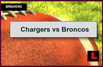 Chargers vs Broncos 2014 Score: Peyton Manning Battles Philip Rivers