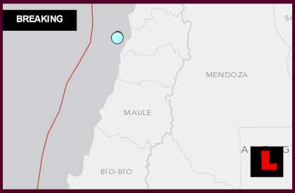 Chile Earthquake Today 2014 Strikes San Antonio