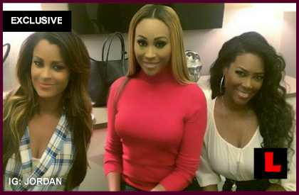 Kenya Moore, Claudia Jordan Battle Phaedra Parks RHOA War - EXCLUSIVE