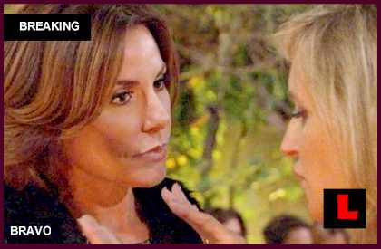 Countess LuAnn de Lesseps: Sonja Morgan is a Fake Friend on a Reality Show