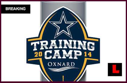 Cowboys Training Camp 2014 Oxnard Schedule Prompts Live Practice for Fans