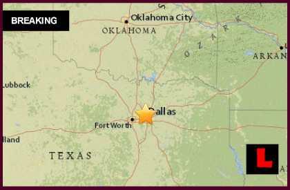 Dallas Earthquake Today 2015 Strikes Irving 2/27