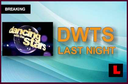 Dancing with the Stars 2015 Results Last Night: Who Got DWTS Eliminated?