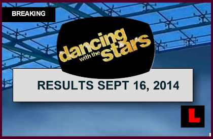 Dancing with the Stars Results 2014 Reveal DWTS Elimination Tonight 9/16/14 september 16, 2014 last night eliminated
