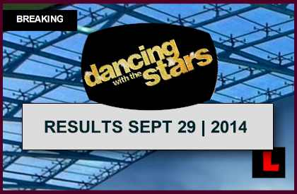 Dancing with the Stars Results Tonight 2014 Prompt DWTS Elimination 9/29/14 september 29, 2014