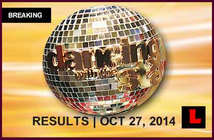 Dancing with the Stars 2014 Results Tonight Shock DWTS Elimination 10/27/14 october 27, 2014