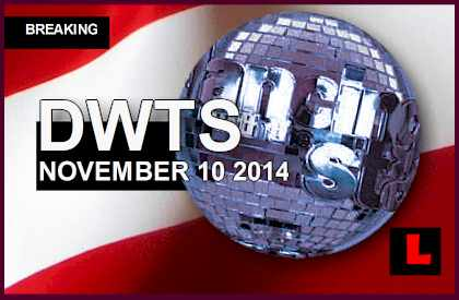 Dancing with the Stars 2014 Results Tonight Prompt November 10, 2014 11/10/14 DWTS Elimination