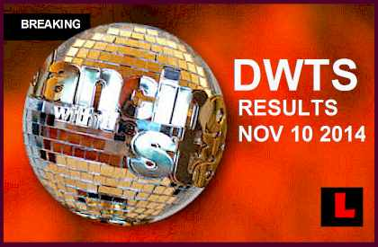 Dancing with the Stars 2014 Results 11/10 Tonight Reveal DWTS Elimination