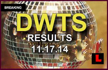 Dancing with the Stars 2014 Results Tonight 11/17 Unveil DWTS Elimination