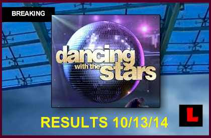 Dancing with the Stars 2014 Results Tonight 10/13: Who Got Eliminated?