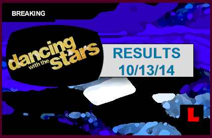Dancing with the Stars 2014 Results Tonight 10/13/14 october 13, 2014 Reveal DWTS Elimination