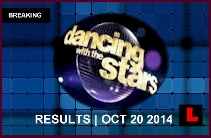 Dancing with the Stars 2014 Results Tonight 10/20 Deliver DWTS Elimination