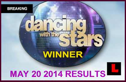 Dancing with the Stars 2014 Results Tonight May 20, 2014 5/20/14 Who Won DWTS Finale winner final