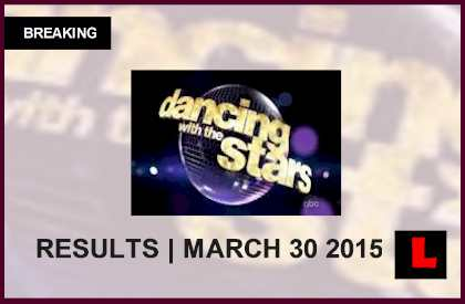 Dancing with the Stars 2015 Results Tonight 3/30 Prompt DWTS Elimination Predictions