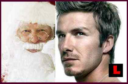 David Beckham Christmas Card 2011 Prompts Leaked Scandal