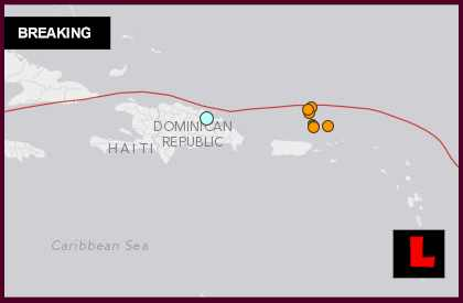 Dominican Republic Earthquake Today 2014: Terremoto Strikes On Land