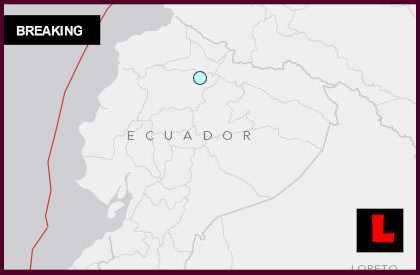 Ecuador Earthquake Today 2014: Terremoto Strikes Near Cayambe Todayl