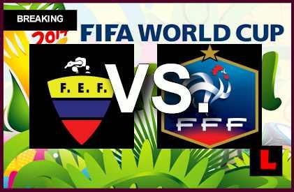 Ecuador vs. Francia 2014 Score Prompts Copa Mundial En Vivo Battle for Suiza  soccer futboll