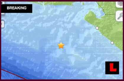 El Salvador Earthquake Today 2014: Terremoto Strikes Nicaragua 10/14