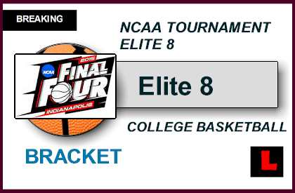 Elite 8 Bracket 2015: March Madness Ignites NCAA ...
