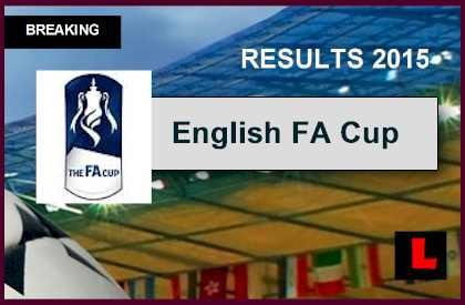 todays fa cup results
