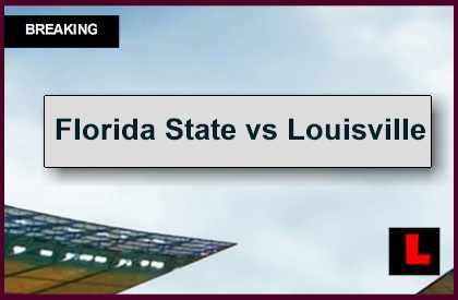 Florida State vs Louisville 2014 Score Ignites AP Top 25 College Football
