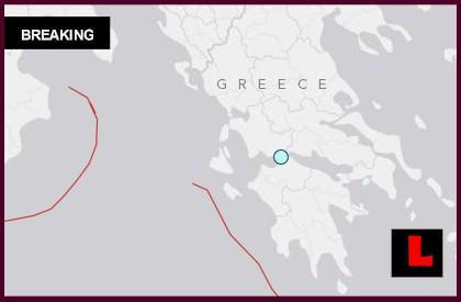 Greece Earthquake Today 2014 Today Strikes Rion, West of Athens