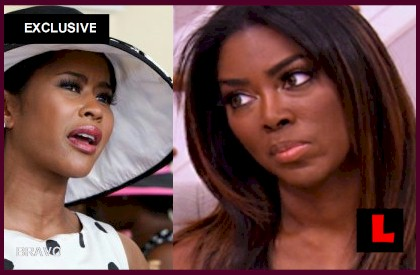 Hollywood Divas vs Kenya Moore: Lisa Wu Gets a Coffin - EXCLUSIVE