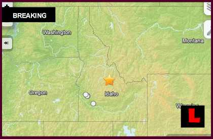 Idaho Earthquake 2014 Today Strikes Near Challis