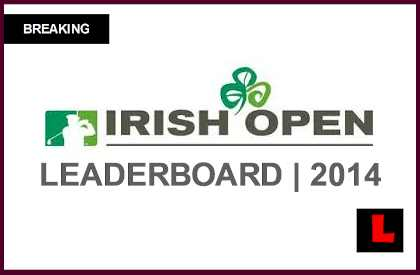 golf leaderboard irish open