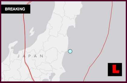 Japan Earthquake Today 2014 Strikes Iwaki