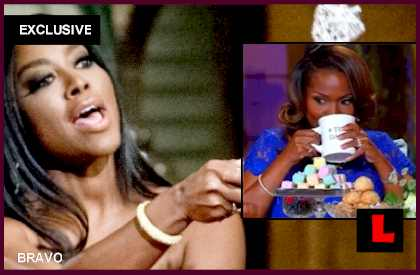 Kenya Moore's Scepter Gets Hope with Dr Heavenly's Mug: EXCLUSIVE