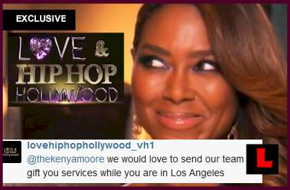 Love and Hip Hop Hollywood Gifts Kenya Moore? EXCLUSIVE