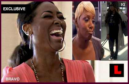NeNe Leakes vs Kenya Moore: Marlo Hampton Joins RHOA '14 Cast - EXCLUSIVE