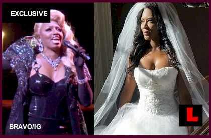 Kenya Moore Gets Married on TV: NeNe Leakes Banned from Wedding - EXCLUSIVE