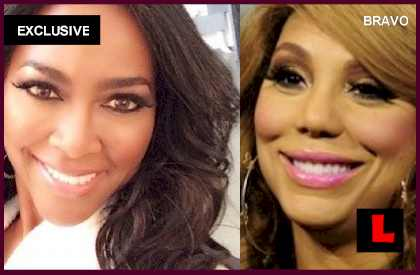 Kenya Moore on Tamar Braxton: At Least I Got My Original Face - EXCLUSIVE