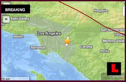 Los Angeles Earthquake 2014 Strikes La Habra March 31, 2014