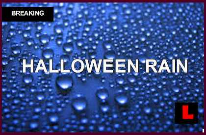 Los Angeles Rain Today Strikes Halloween 2014: What is the Start Time