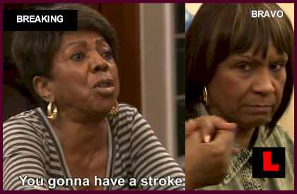 Mama Joyce Fights Todd Tucker Mother Miss Sharon on Kandi Wedding Tonight