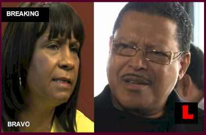 Mama Joyce Took Restraining Order out on Kandi's Dad Titus Burruss