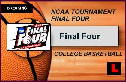 March Madness Bracket Schedule 2015 Preps NCAA Tournament Final Four